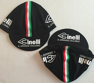 Cinelli Black Cycling Cap - Bike Hat