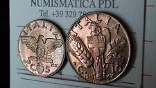 coppia di monete da 5 e 10  CENTESIMI 1942 xx IMPERO V.E.III FDC lotto