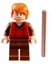 NEW LEGO RON WEASLEY MINIFIG harry potter figure minifigure 10217 diagon alley
