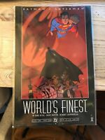 1999 DC Comics Batman Superman World's Finest Book One 1 Graphic Novel Paperback