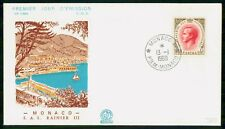 Mayfairstamps Monaco FDC 1969 Rainier II Prince First Day Cover wwf_08701