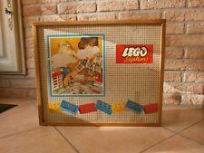 très rare cette grande boîte de rangement et d'accessoires en bois pour LEGO