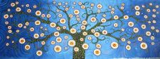 Australia Tree Flowers  Texture art Painting  by Jane Very Large Size