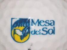 (1) Mesa Del Sol Golf Course Logo Golf Ball (New Mexico)