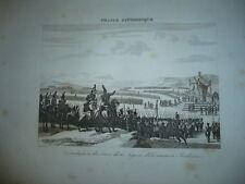 GRAVURE DISTRIBUTION DES CROIX DE LA LEGION D'HONNEUR A BOULOGNE 1890