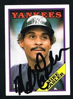 Mike Easler #741 signed autograph auto 1988 Topps Baseball Trading Card