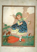Little Miss Muffet NN Linen book