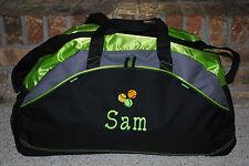 Personalized Designed Duffel Bag Custom Embroidered Gymnastic Gym Travel Sport