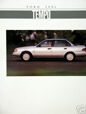 1994 Ford Tempo coupe/sedan new vehicle brochure