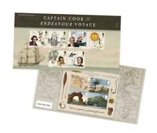 Captain Cook Stamp Presentation Pack - New
