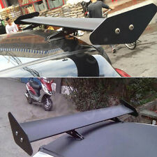 NEW Universal Black Adjustable Aluminum Light Weight GT Rear Racing Spoiler Wing