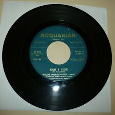 BLACK GOSPEL 45 RPM RECORD - WILLIE MORGANFIELD - ACQUARIAN 6457