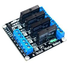 1pcs 5v 4 Channel OMRON SSR G3MB-202P Solid State Relay Module For Arduino z3