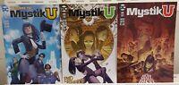 Mystik U 1 2 3 Complete Set Series Run Lot 1-3 VF/NM