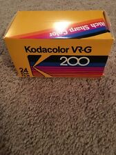 Kodak Kodacolor VR-G 200 Advertising Display/Tissue Box.
