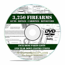 3250 Firearm-gun-weapon Manuals Rifle Carbine Pistol Revolver Shotgun DVD V21