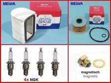 Wartungs-Set f. YAMAHA XJ650 MEIWA Filter 4x NGK Zündkerze BP7ES Maintenence kit