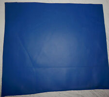 "Blue Cowhide Upholstery Leather Remnants Scraps 13""x16"" avg 1mm thick #679"