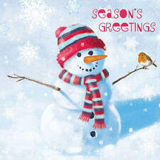 Help For Heroes Christmas Card Pack (Small) - Snowman's Friend (10 Cards)