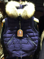 PARAJUMPERS BEAR WOMEN'S WINTER DOWN VEST, 100% GENUINE, BLUE, BLACK, S M L