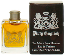 Dirty English by Juicy Couture For Men EDT Cologne Splash 0.17oz New In Box