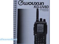 Deutsche Bedienungsanleitung für das Wouxun KG-UV8D
