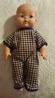 "Vintage 1970's Lorrie Doll 12.5""  mold hair baby, blue eyes, Vguc maybe 1973"