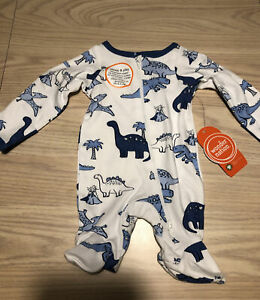 """NEW ~ """"DINOSAURS """" Baby Boy Preemie Outfit / Reborn Sleeper Clothes"""