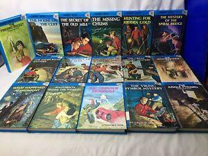 Hardy Boys 16 BOOK LOT Franklin W. Dixon 2-10,12,25,42,45,56,57 Vintage70's-90's
