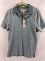 PENGUIN Original Men's ARONA Blue Polo Shirt, size Small Slim Fit