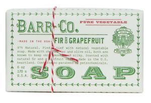 Barr Co Fir and Grapefruit Bar Soap k hall designs