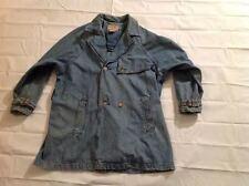 Vintage Calvin Klein Weathered American Classic Denim Jean Jacket Womens Size L