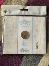 NEW Peter Rabbit 50p BUNC In Sealed Royal Mint Packaging 2017