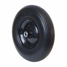 ALEKO Flat Free Replacement Wheel For Wheelbarrow 16 In No Flat Tire Black