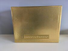 Paco Rabanne Tin Gold Gift Box Gold Empty