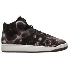 Para Hombre Adidas Veritas Mid neutral Negro Entrenadores B24355 UK 8-EUR 42-US 8
