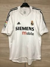 Real Madrid 2004-2005 Home Football Soccer Adidas Shirt Jersey Camiseta size L