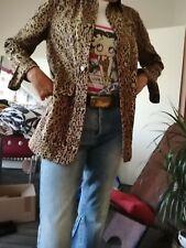Veste léopard légère Audrey Lombard