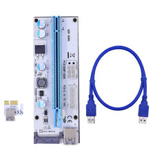PCI Express USB 3.0 PCI-E 1Xà16X Carte d'extension VER008S BTC Carte d'extension