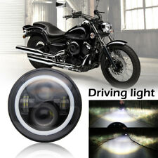 "7"" Headlight LED Halo Ring For Kawasaki Vulcan VN 500 750 800 900 1500 1600 1700"