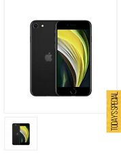 Apple iPhone SE 2020 Dual Sim - 64GB  BRAND NEW - Black Unlocked