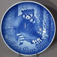 Bing & Grondahl 2021 Mother's Day Plate B&G Red Panda & Cub - New in Box!
