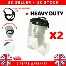 2X Protector for anti saliva virus bacteri Full Face Head Hat guard