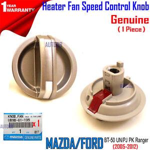Genuine For Mazda BT-50 UN Heater Control Knob 2008-11 UB9B61195 Ford Ranger PK