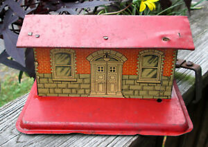 Vintage Marx Tin Litho Glen Ellen Toy Train Station