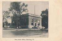 STERLING IL – New Post Office - udb (pre 1908)
