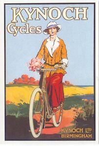 Kynoch Cycles Modern colour postcard by Santoro Graphics