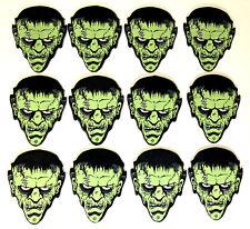 12 Pack Monster Shaped Guitar Picks - FRANK - Hot Picks 12 pk pics Frankenstein