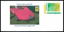 SPAIN PRIVAT-GA GANZSACHE AUTO CAR FERRARI DINO SPYDER 1950 RARE!! cd27