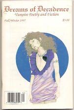DREAMS OF DECADENCE #5, Fall 1997. Laura Ann Gilman.  Vampire fiction & poetry